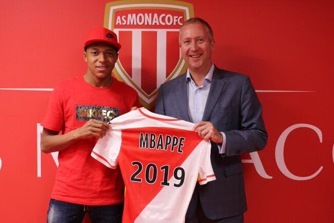 Monaco : Mbappé passe pro et signe jusqu'en 2019