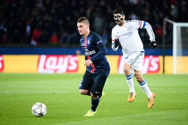PSG: Verratti prêt à risquer gros pour jouer face à Chelsea?