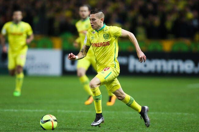 Nantes : Adryan privé de match à cause son attitude à Rennes ?