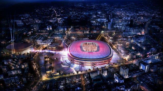 Barça: Les Blaugrana présentent leur nouveau Camp Nou à 600 ME