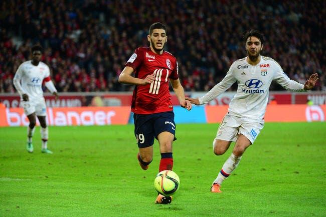 Lille: L'Algérie, l'OL retardait le choix de Benzia