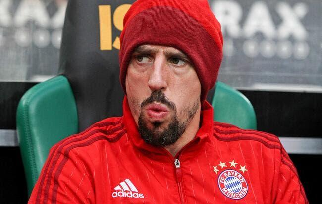 Euro 2016: En colère contre la France, Ribéry veut devenir allemand