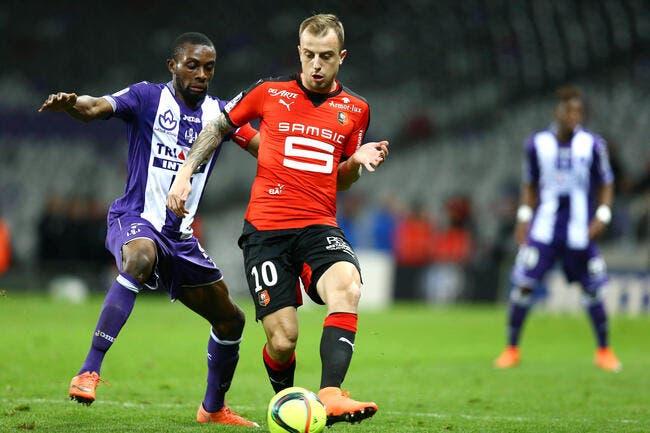Grosicki prolonge de trois ans à Rennes