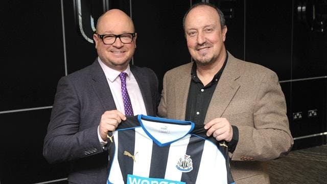 Officiel: Rafael Benitez nouvel entraineur de Newcastle