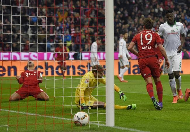 Bayern Munich - Werder Brême : 5-0