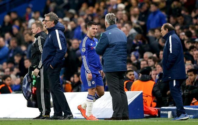 Chelsea: Hazard va vers le clash après son non-match face au PSG