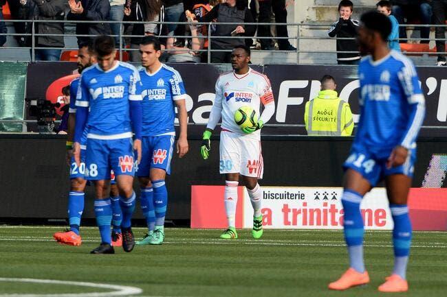 L'OM évite le pire à Lorient, merci Mandanda!