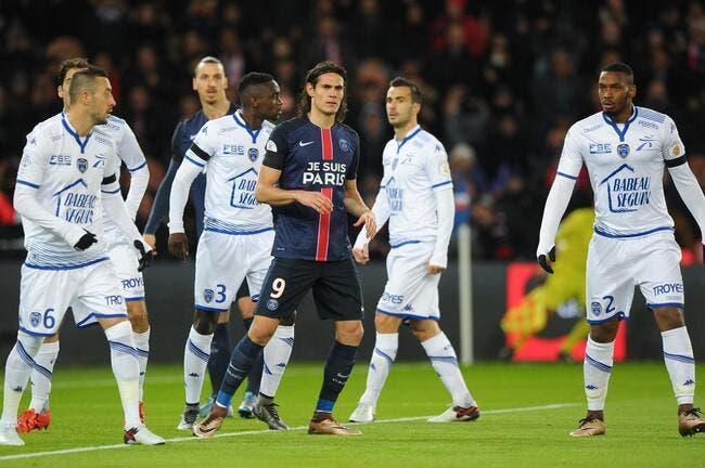 foot psg - psg   troyes veut choquer la l1 et emp u00eacher le sacre parisien