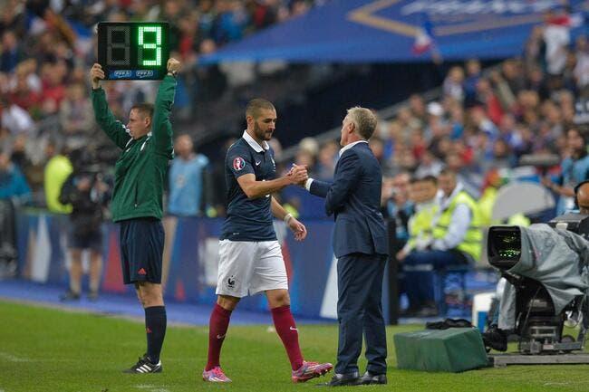 Sextape, Euro, efficacité, Didier Deschamps défend Benzema à fond