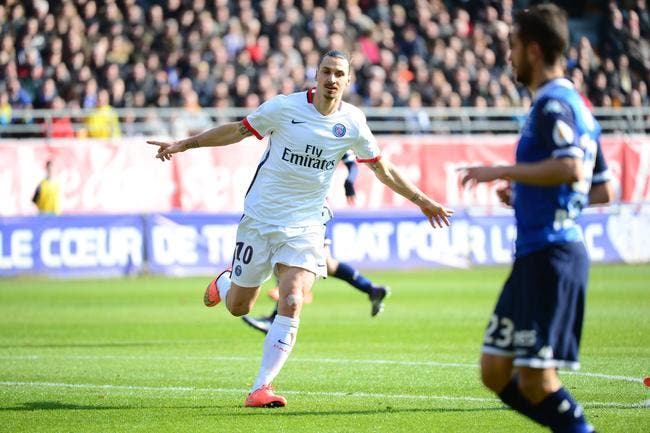 PSG : Ibrahimovic passe la barre des 100 en L1 !