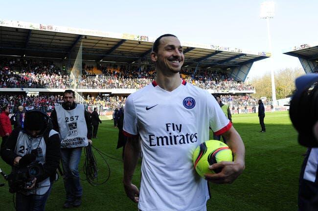PSG : Un nouveau titre en L1, et Ibrahimovic est tout émoustillé