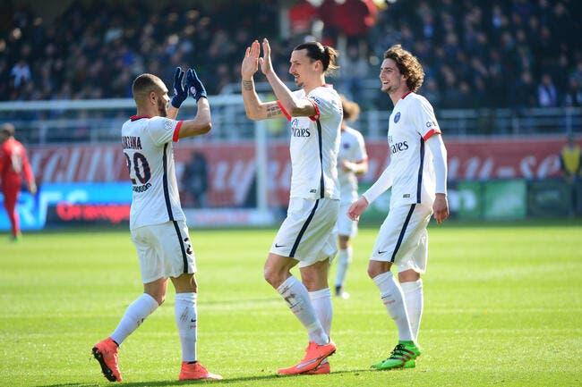 Qui dit victoire à Troyes, dit titre de champion pour le PSG !