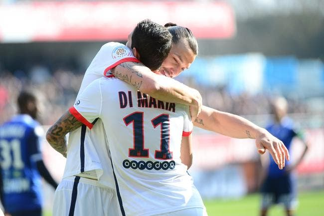 Troyes - PSG : 0-9