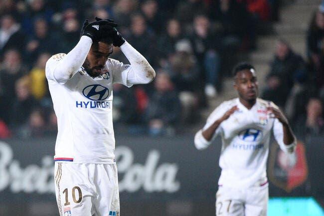 OL : Lacazette avoue avoir bouffé la feuille à Rennes