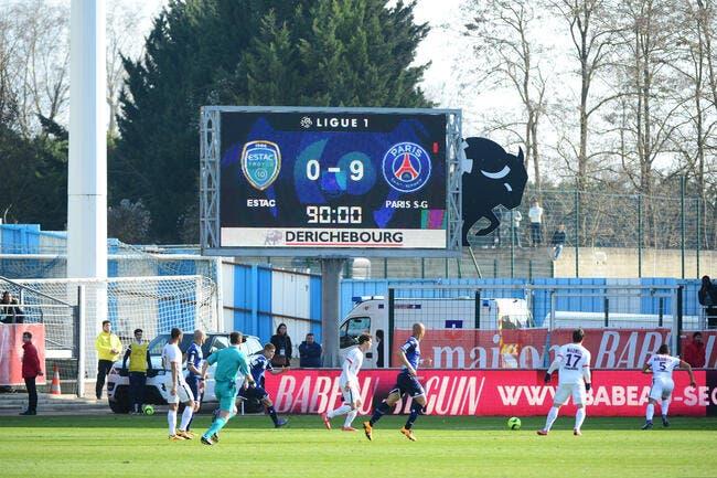 Troyes : 0-9, même face au PSG, c'est la honte