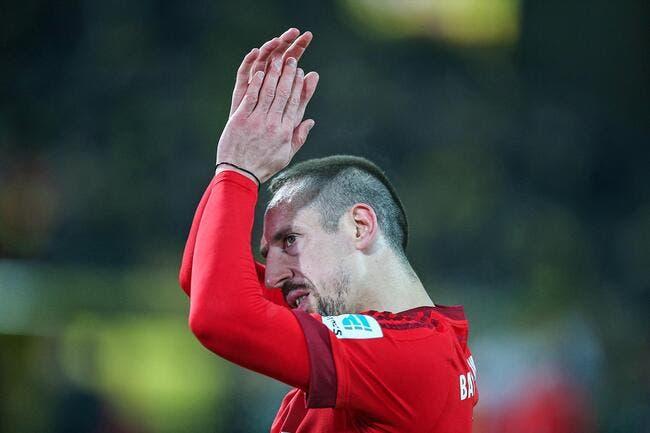 France: Ribéry ouvre la porte à un retour chez les Bleus!