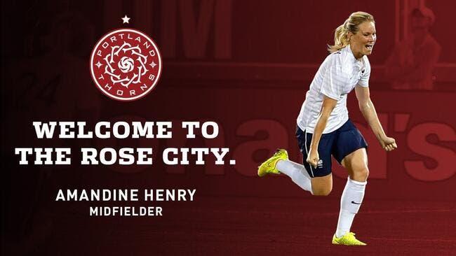 OL : Amandine Henry signe à Portland