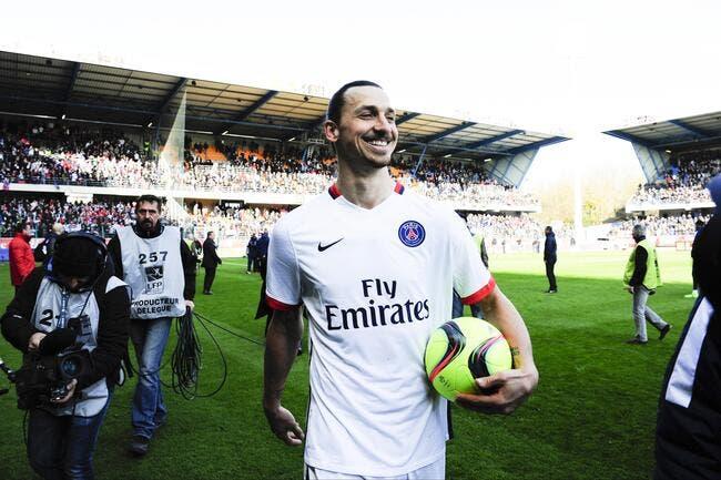 PSG : Ibrahimovic répond avec malice à la Tour Eiffel