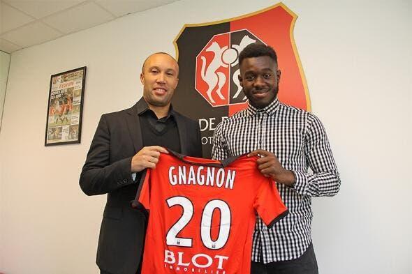Testé par Reims et l'ASSE, Gnagnon passe pro à Rennes