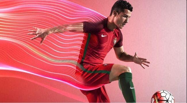 Cristiano Ronaldo et le Portugal ont leur maillot pour l'Euro
