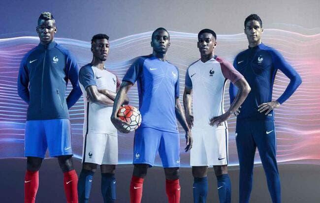 Les nouveaux maillots de l'équipe de France dévoilés