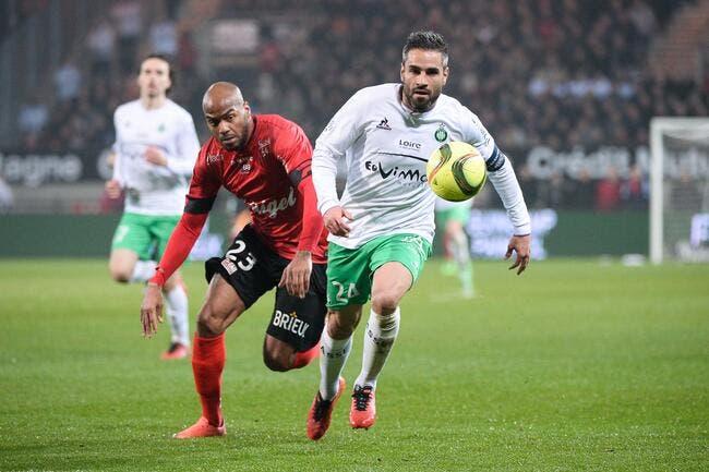 ASSE: Toujours sans Perrin contre Montpellier