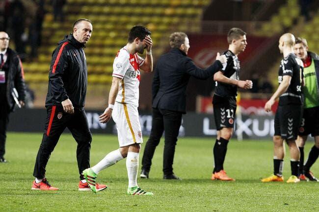 Monaco : Moutinho absent un mois