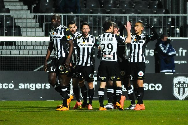Angers heureux d'avoir passé ses nerfs sur Lorient