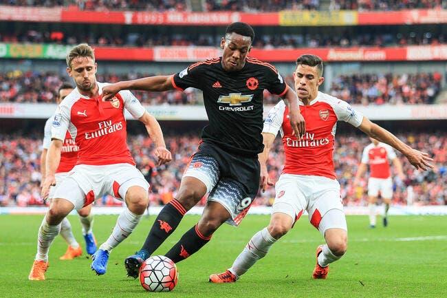Man United: La Ligue 1, c'est trop facile constate Martial