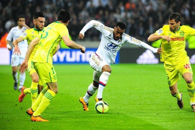 OL - Nantes : 2-0