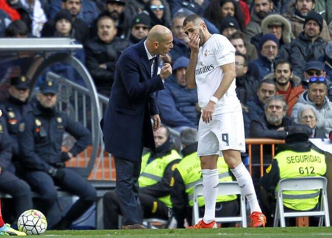 Real: Zidane conseille à Benzema de zapper la presse française