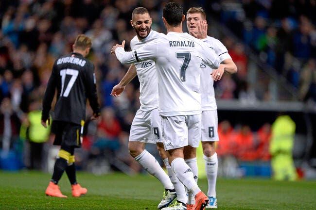 Real Madrid - Séville : 4-0
