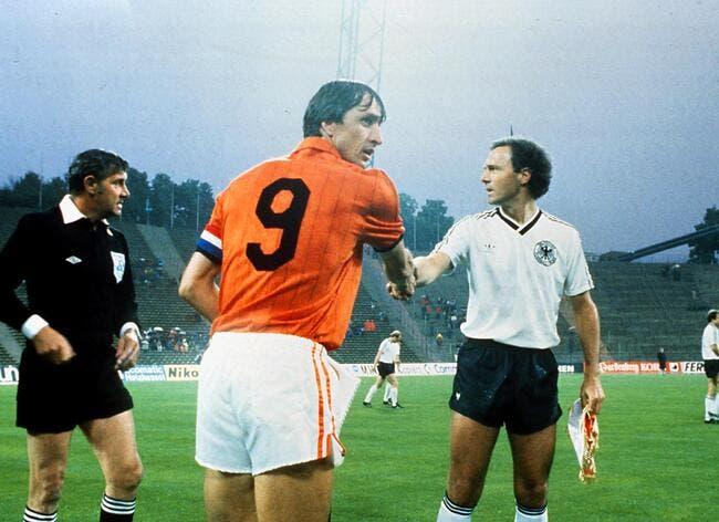 Décès de Cruyff, pluie d'hommages pour le Hollandais Volant