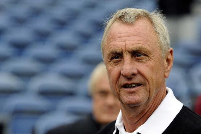 Décès de Johan Cruyff, une des légendes du football