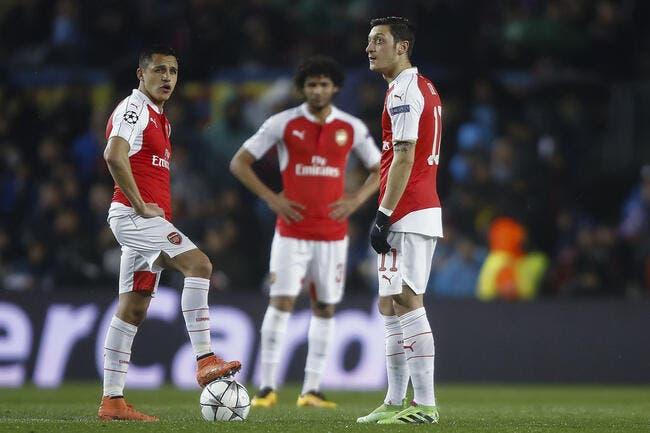 Mercato: Le Barça propose trois joueurs pour récupérer Özil