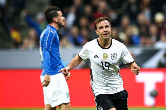 Allemagne - Italie 4-1