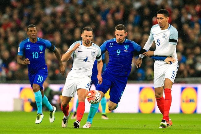 Angleterre – Pays-Bas 1-2