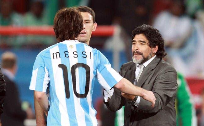 Messi a réglé à sa façon le cas Maradona