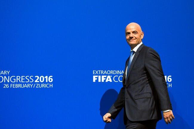 FIFA: Le Mondial 2026 avec 40 équipes, Infantino y croit