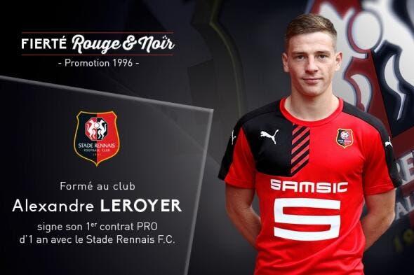 Rennes : Leroyer signe son premier contrat pro