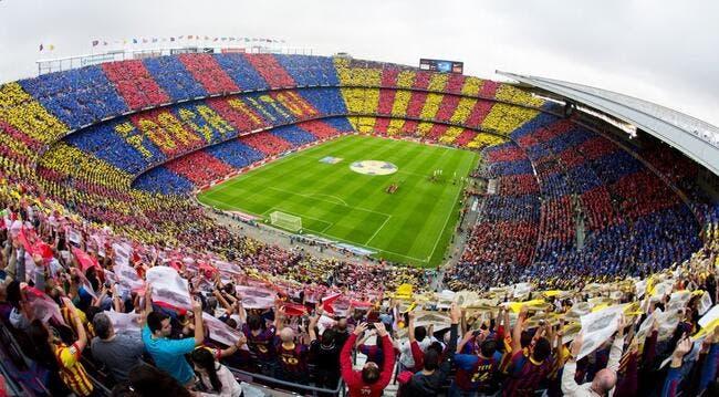 Le tifo que prépare le Barça pour Cruyff