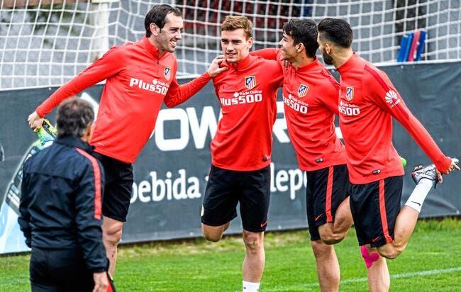 L'Atlético récupère Godin et Carrasco