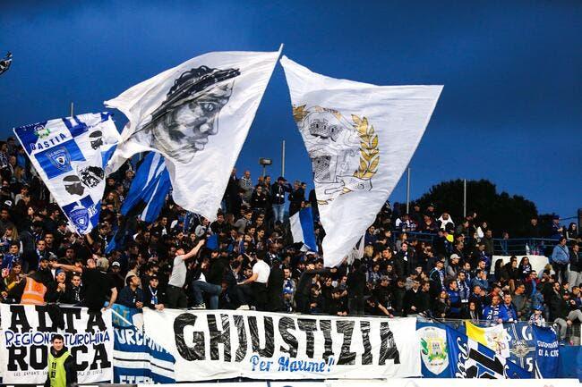Bastia n'a pas peur de descendre en L2 et se défend