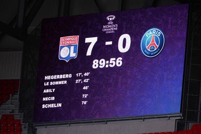 PSG : Paris se débat pour éviter un flop historique contre l'OL
