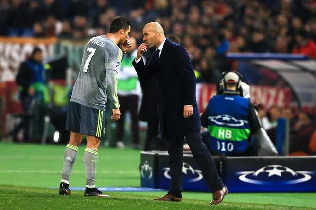 Real Madrid : Entre Cristiano Ronaldo et Zidane, c'est le grand amour