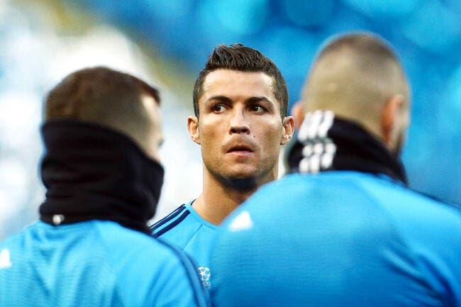 Cristiano Ronaldo apte et à 100% pour Real Madrid-Man City