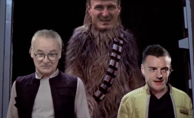Film : Star Wars version Leicester champion d'Angleterre