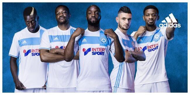 OM : Les maillots 2016-2017 de Marseille officialisés