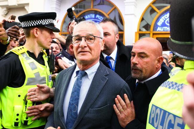Ranieri ovationné en conférence de presse