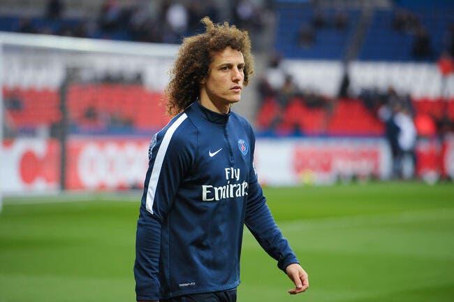 PSG: David Luiz n'est pas le chouchou de Laurent Blanc